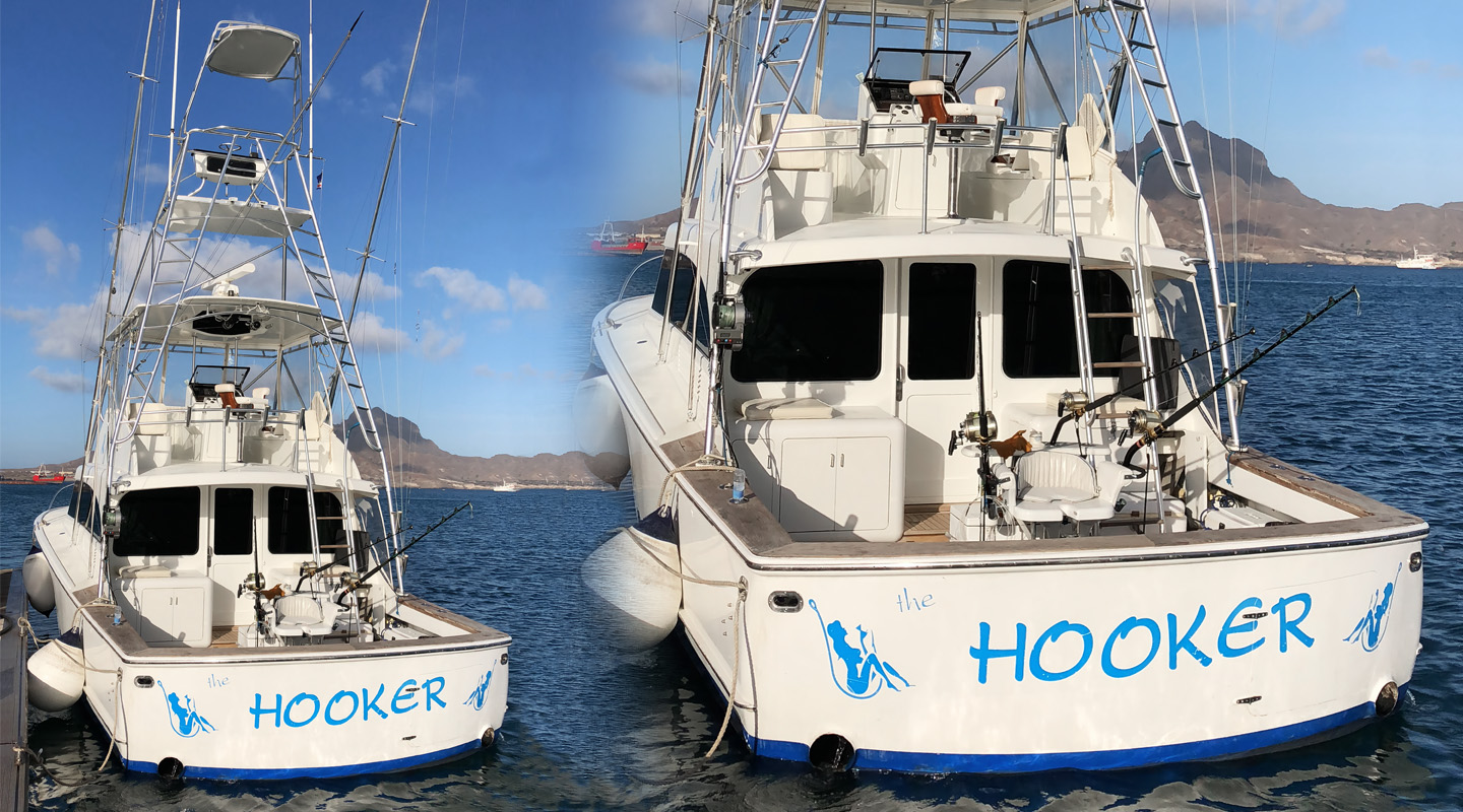 The HOOKER - Fishing Boat - Cape Verde