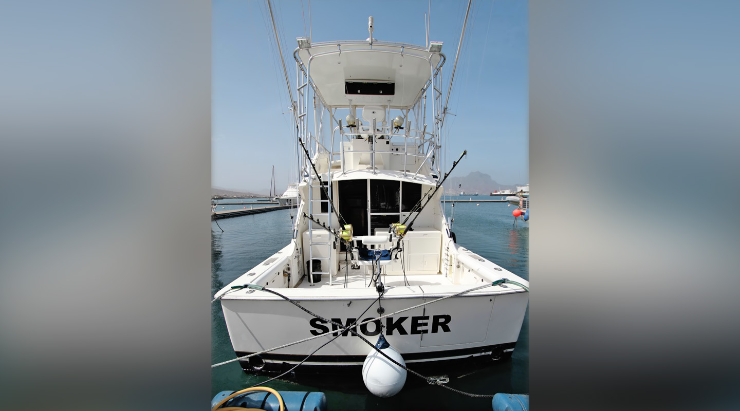 SMOKER - Fishing Boat - Cape Verde