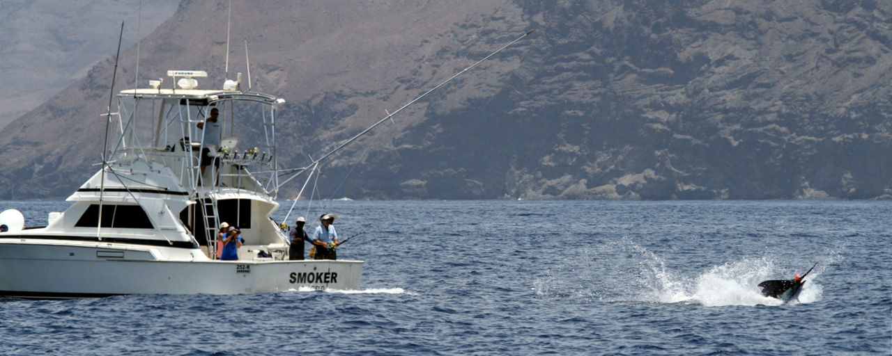 SMOKER - Fishing Boat - Marlin - Cape Verde [Atlantic Fishing Charter]